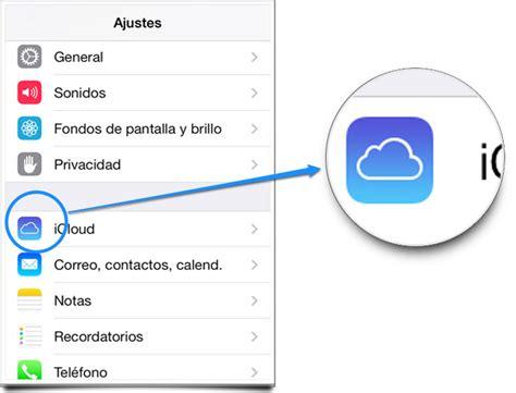 ver imagenes guardadas en icloud c 243 mo restaurar los contactos de icloud en el iphone o ipad