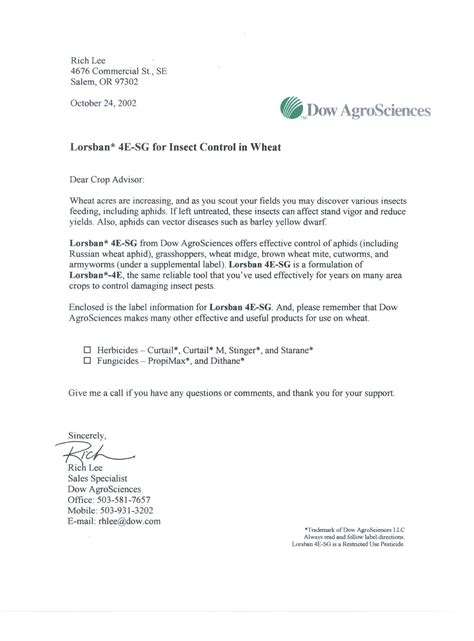 sales letter a sales letter is a of direct mail