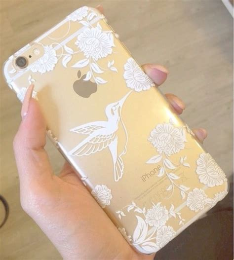 Hardcase Pc Vintage Iring Floral Cover Casing Iphone 6 Plus plastic cover for iphone 5 5s 5c 6 6plus henna vintage hummingbird floral