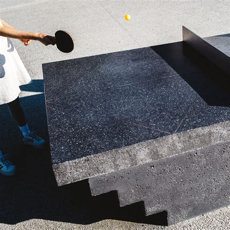 Murray Barker And Laith Mcgregor Create Concrete Ping Pong