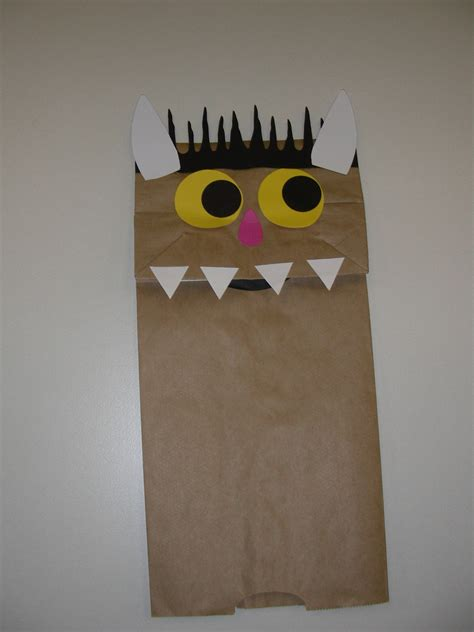 Paper Bags Crafts - eisenhowerstorytime licensed for non commercial use only