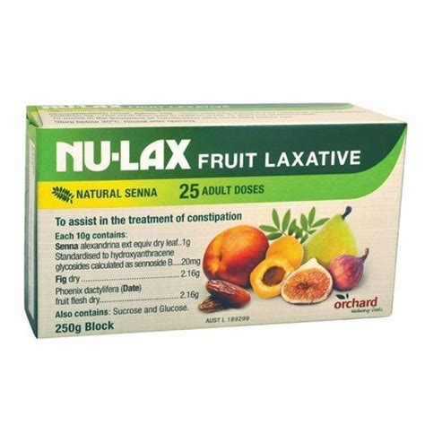 Senna Glycosides Also Search For Nulax Fruit Laxative Block 250g Made From Dried Fruits Made In Australia