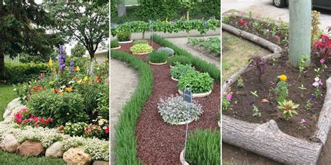 recycled garden edging ideas 25 best ideas about flower bed edging on landscaping