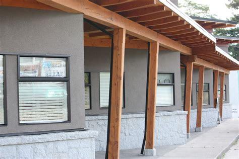 commercial storefront modern windows building