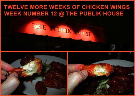 twelve more weeks of chicken wings week number 12 the