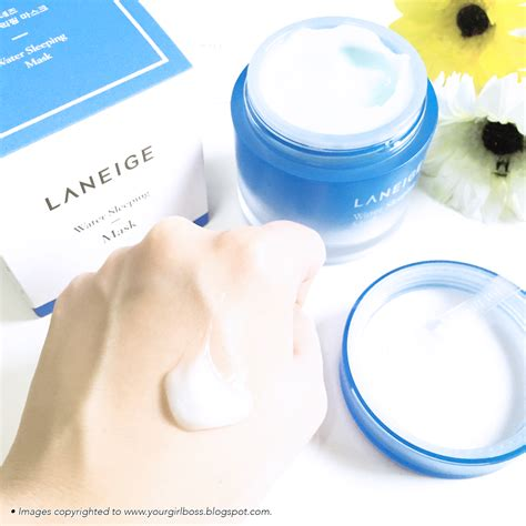 Laneige Water Sleeping Mask Di Counter laneige 2015 2016 water sleeping mask review jean kuah s