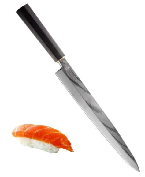 Vg10 Kitchen Knives Yanagiba Sashimi Sushi Slicing Knife Vg10 Japanese