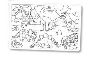Puzzle Des Dinosaures 224 Colorier
