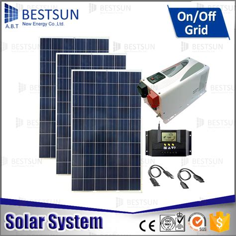 solar panel kits for home use 3000w stand alone pv solar kit for home use china solar panel kit complete 10kw sales 5kw