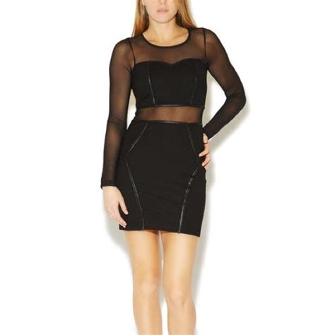 Be In With The New Arden B Dresses by 66 Arden B Dresses Skirts Arden B Piped Mesh