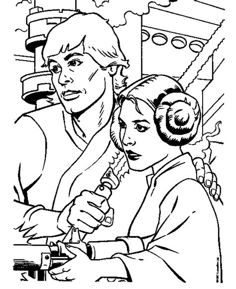 princess leia lego coloring pages