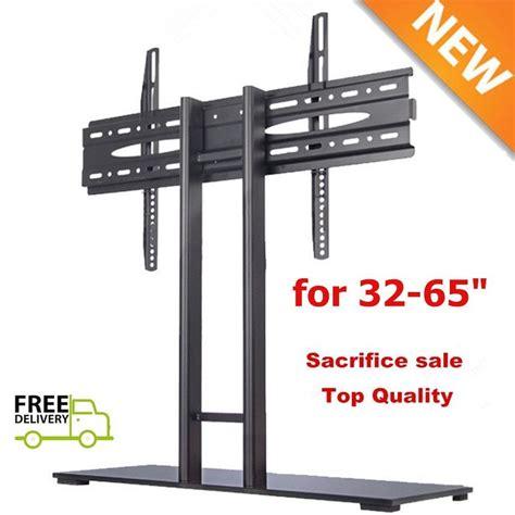 Murah Standing Tv Bracket Tv Standing 32 60 High Quality tv cart led lcd mobile stand mount for samsung lg etc 32 37 40 46 47 50 55 60 65 ebay