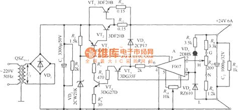 24v regulated power supply schematic regulated 220vac to