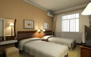 hotel room interior hotel standard double room interior design rendering 3d