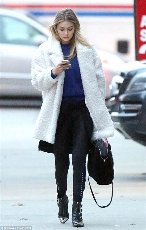 Vic Set 2in1 Jumper Sporty gigi hadid is newest of s secret as she teases fans with snap daily mail