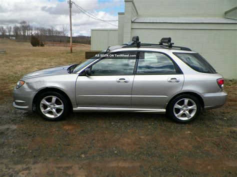 subaru hatchback 2 door 2007 subaru impreza 2 5i wagon 4 door 2 5l