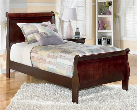 ashley furniture twin bed signature design by ashley alisdair twin sleigh bed olinde s furniture sleigh beds