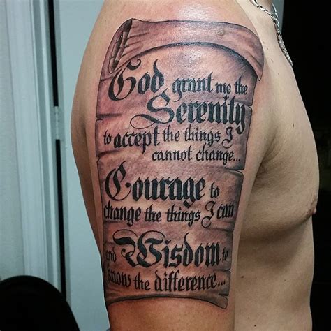 serenity prayer wrist tattoo the gallery for gt serenity prayer on wrist