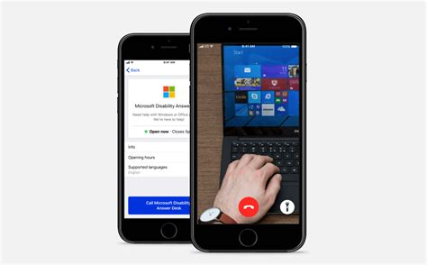 microsoft disability answer desk be my for ios adding microsoft tech support for blind