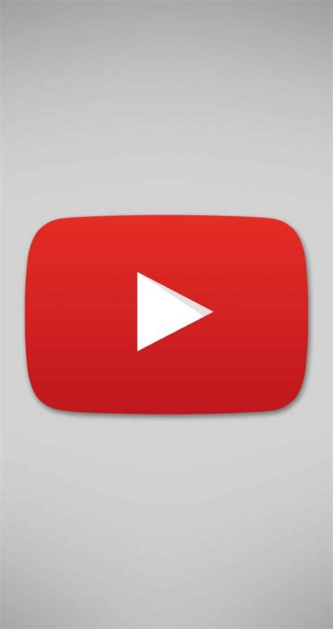 Wallpaper Iphone 6 Youtube | download youtube logo hd wallpaper for iphone 6 6s