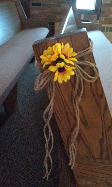 fall pew decorations for weddings 10 ideas about pew decorations on wedding pew