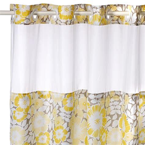 fan floral hookless shower curtain bed bath