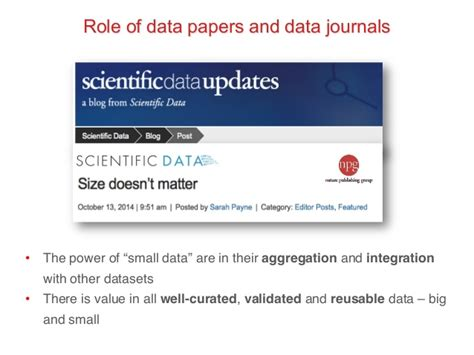 Big Data Research Papers 2014 by Big Data Small Data Data Papers Statement For Quot Bdebate On B