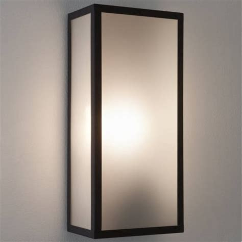 small box mirror and lights and demister buy online at messina 7187 exterior wall light by astro buy online