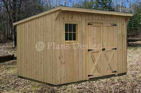 Garden Shed Plans 8×10