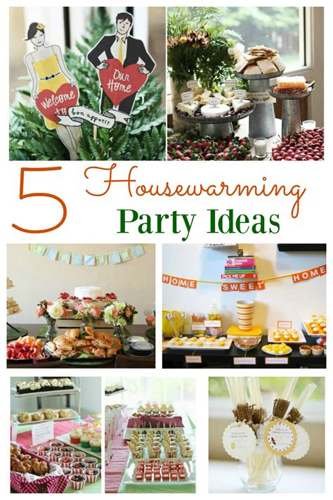 themes for a house party housewarming party ideas