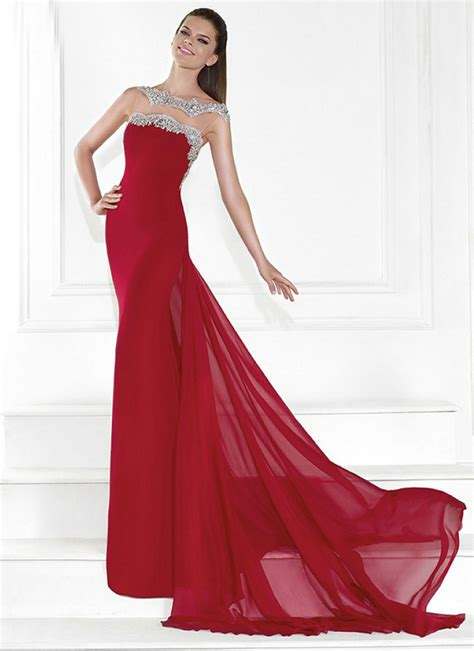 gown design images red gown dressed up girl