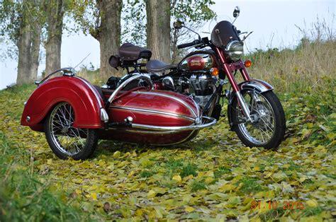 Motorrad Beiwagen Bilder by Enfield Gespann 283 Foto Bild Motorrad Seitenwagen