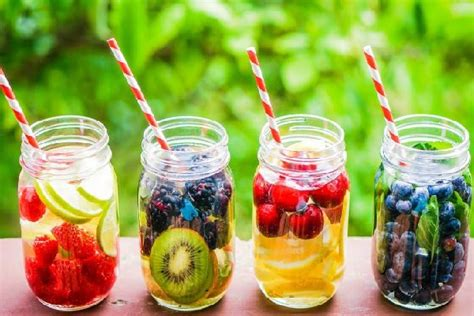 Skin Detox Infused Water by Get Silky Skin Reduce Weight And Detox By Fruit