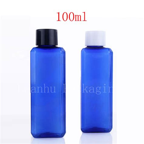 Murah Fast Print Textile Dtg Black 100 Ml ᗖ100ml blue colored ヾ ノ square square empty cosmetics packaging lotion bottles containers
