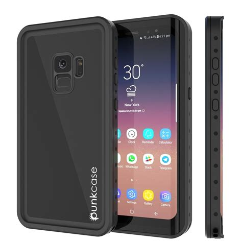 galaxy s9 waterproof punkcase studstar black thin cover punkcase uk