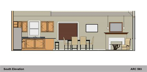 Dining Section by Arcbazar Viewdesignerproject Projectapartment Design Designed By Margaret Holden Design