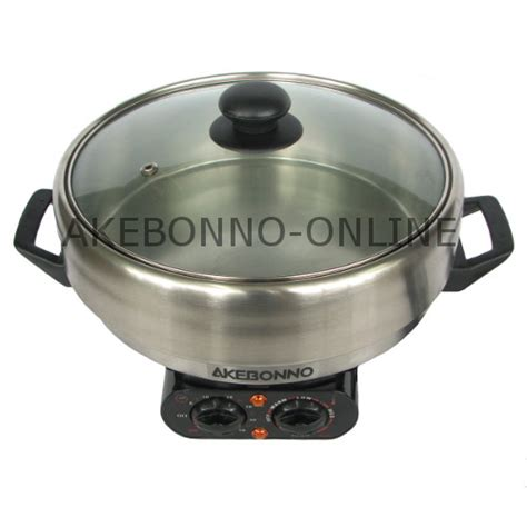 Panci Serbaguna Cka Pot peralatan dapur akebonno 4 in 1 multi cooker