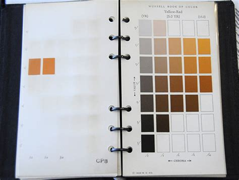 munsell color book munsell vintage book of color pocket edition munsell