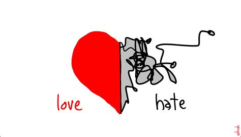 images of love hate love and hate