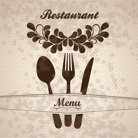 design cover menu restaurant restaurant menu cover vector