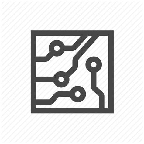 cpu electronics icon
