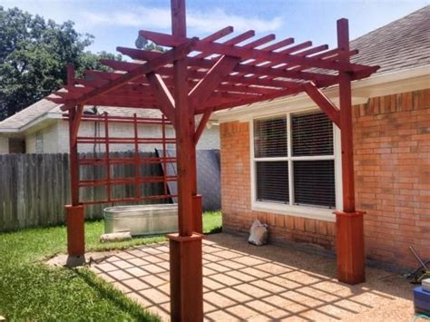 do it yourself pergola diy pergola backyard tutorials diy pergola