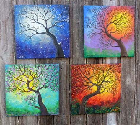 Painting 4 Seasons by 25 Best Ideas About Fall Paintings On Fall