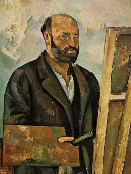 cezanne by himself drawings 0316855030 epph c 233 zanne s self portrait with a palette 1885 7