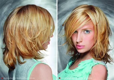 frisuren fuer schulterlanges haar mit stufen pagenschnitt