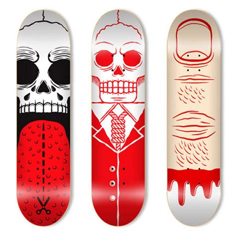 Awesome Skateboard Deck by 55 Awesome Skateboard Deck Designs Pixel Curse