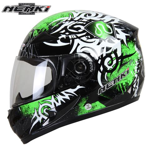 full face motocross helmets nenki motorcycle helmet motorcycle cool blue full face