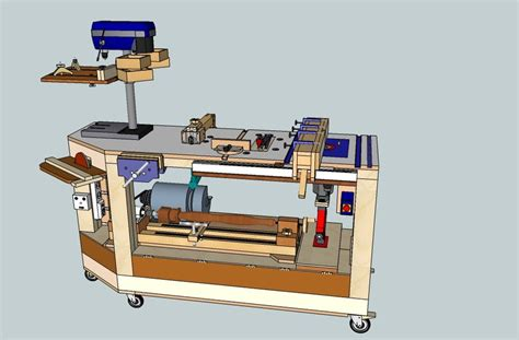 how to make a tool bench derang woodworking bench for power tools