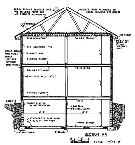section of a house plan free colonial house plans colonial house floor plans