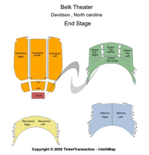 belk theater seating map belk theatre at blumenthal performing arts center tickets